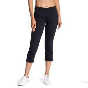 "Mother ""The Dropout"" Cropped Slim Jeans"